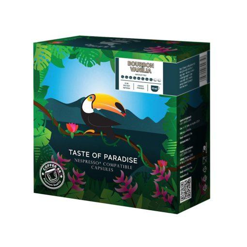 Bourbon Vaniliával ízesitett Nespresso kávékapszula - 20 db