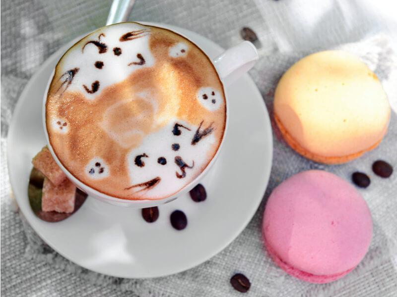 Kávédíszítési tippek otthonra